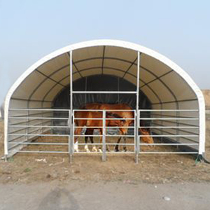 farm tractor storage warehouse container shelter