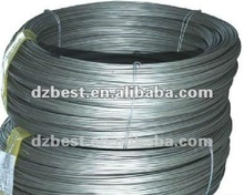 2012 BH low carbon galvanized steel wire for binding