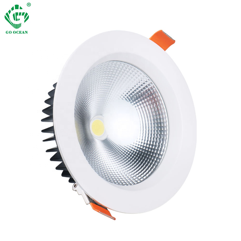 Wholesale China Adjustable 7W 15W 20W 30W 40W Recessed CRI90 Dimmable Anti Glare Led <strong>Downlights</strong> For Housing Hotel l Down Lights