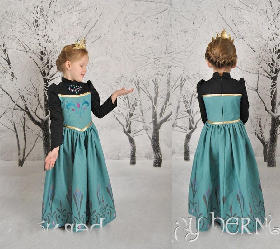 DISNEY Store Frozen ANNA INCORONAZIONE Costume tutte le età NUOVO LOOK ** **