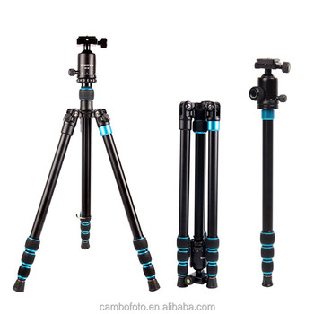Traveler DSLR camera tripod aluminum leg monopod,Travel Professional Digital Camera Tripod