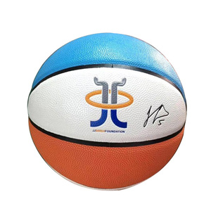 Custom Logo Size 7 Sport Training Pu Leather Basketball