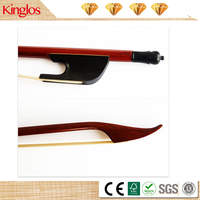 Popular Baroque Violin Bow Wooden Violin Viola Cello Bass Bow