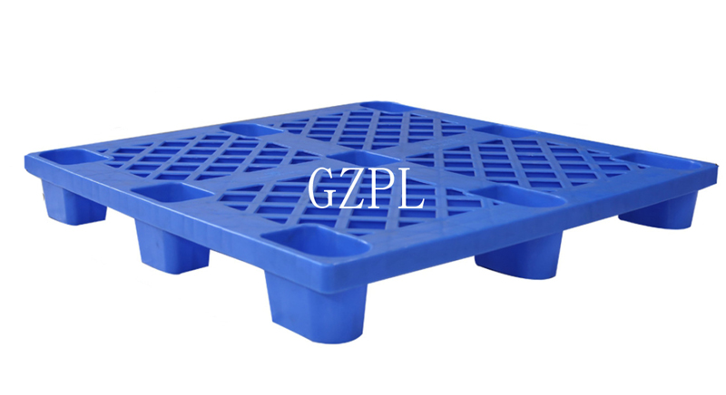 Single Faced Style Heavy Duty Grid Plastic Euro Pallet For Forklifts