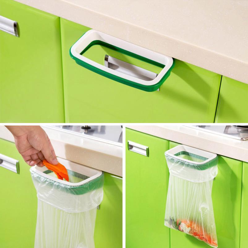 Kitchen Cabinet Garbage Bag Rack