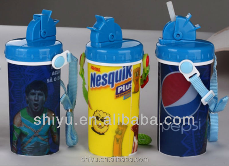 500ml School Children 3D Water Bottle