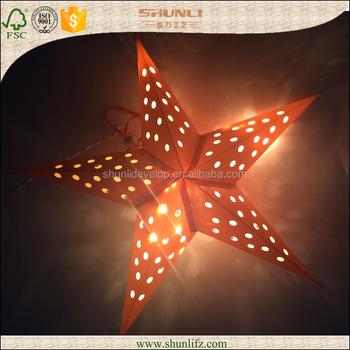 Nicro LED Strings Paper Lanterns 1.5M Fairy Lights Pumpkin Hanging ...   350x350