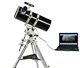 JAXY Professional Digital Refractor Astronomical Telescope WT800203EQ Used For Sky-Watching