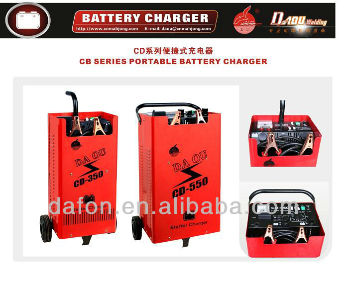 COMPORTABLE CAR BATTERY CHARGER 2012