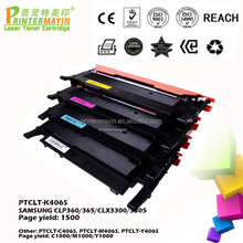 Compatible Cartridge for Samsung clt 406 Printer Toner Cartridge FOR SAMSUNG CLP360/365/CLX3300/3305 (PTCLT-K406S)