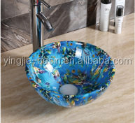 YJ749 small sink for child bathroom face wash basin