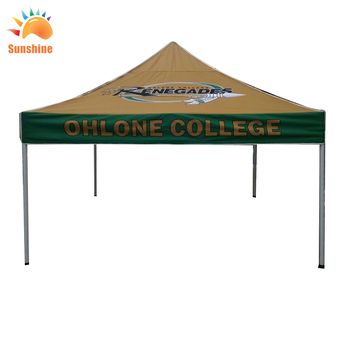 100% oxford cloth aluminous and ferric frame wholesale outdoor folding canopy tent trade show tents with sandbags and waterproof