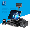 AIO1589 Touch Screen Cash Registr Machine /Pos Billing Machine For Supermarket