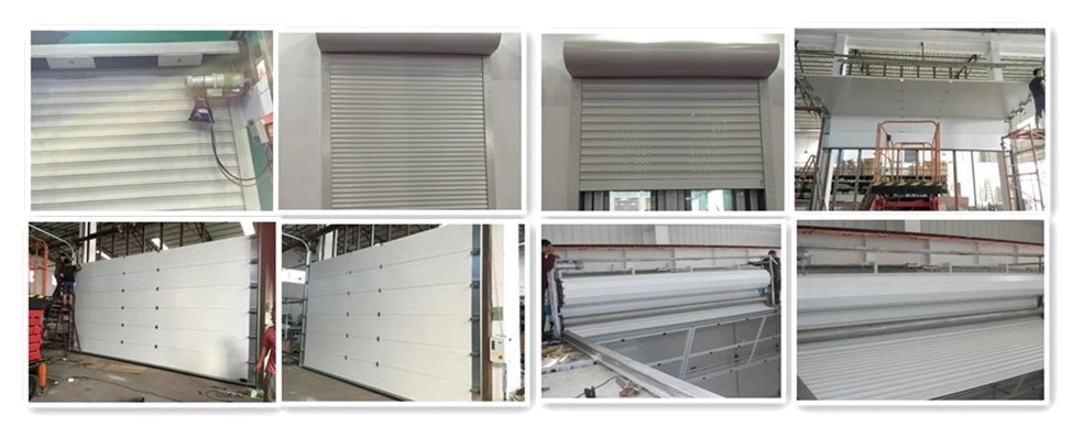 product-Zhongtai-Black Color Good Quality with PU foam heat prevention Aluminum Roller Shutter Windo-2