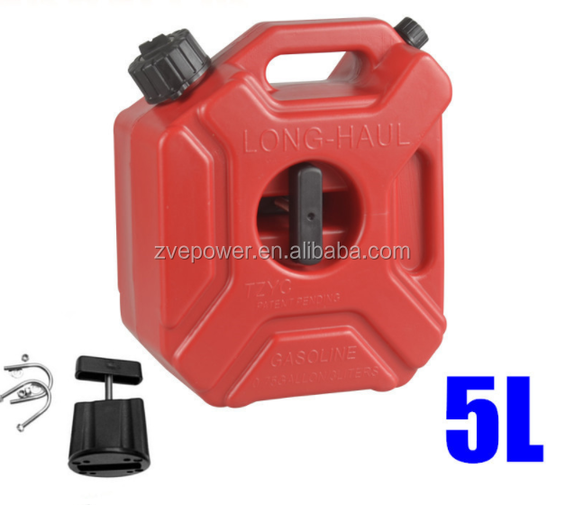 Plastic Gas Cans >> 5l Litre Mount Motorcycle Spare Fuel Tank Jerry Cans Plastic Car Petrol Tanks Jerrycan Oil Container Backup Oil Can Buy Jerry Cans Oil Can 5 Litre