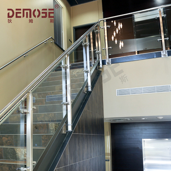 Side Mouted Stair Handrail Wall Mounted Railing