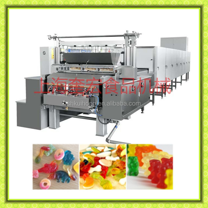 automatic depositing jelly candy production line /hard candy production line / toffee candy production line