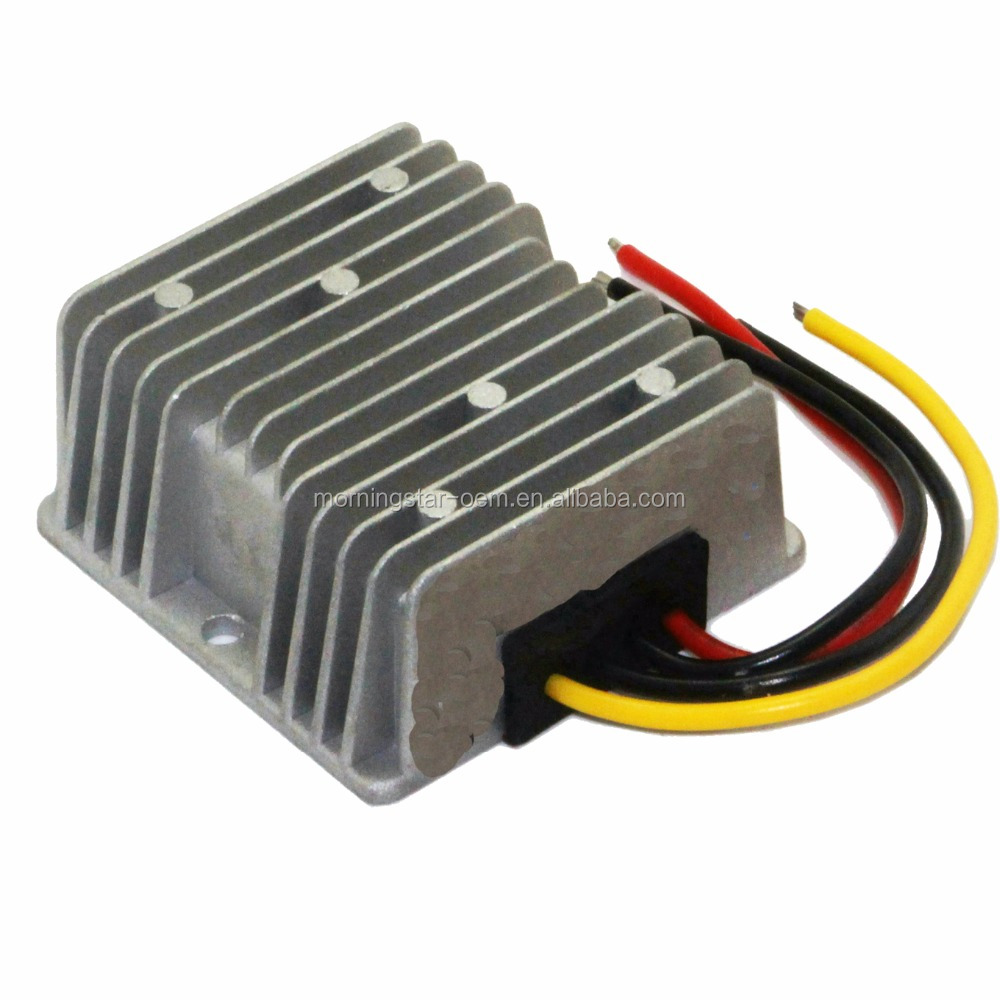 High Quality NEW 9V 12V 24V 36V to 24V 6A 144W DC-DC Converter step up and down module Car Power supply Voltage Regulator
