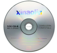 XINAOLIN CD-R lightscribe 700MB 52x in blank media with 50pcs cake box