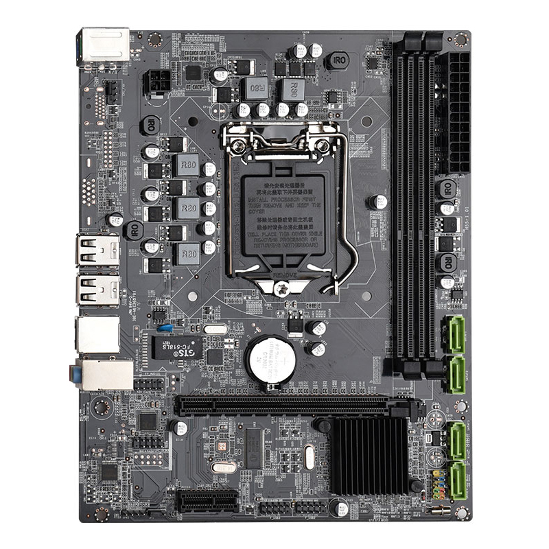Intel motherboard LGA 1156  H55 chipset support up to 8GB Memory Intel Core i3 i5 i7 CPU compatible 210x170mm NEW model P55