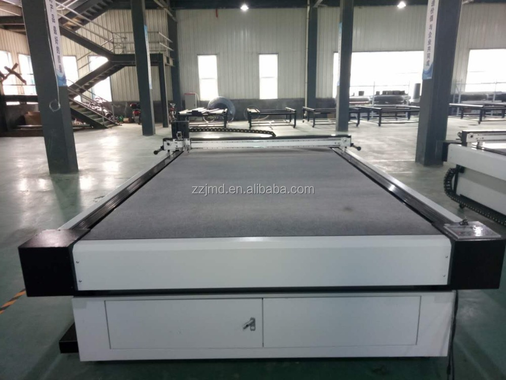 Convey belt single layer cutting system