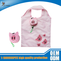 guangzhou New products 210d polyester travel foldable shopping bag