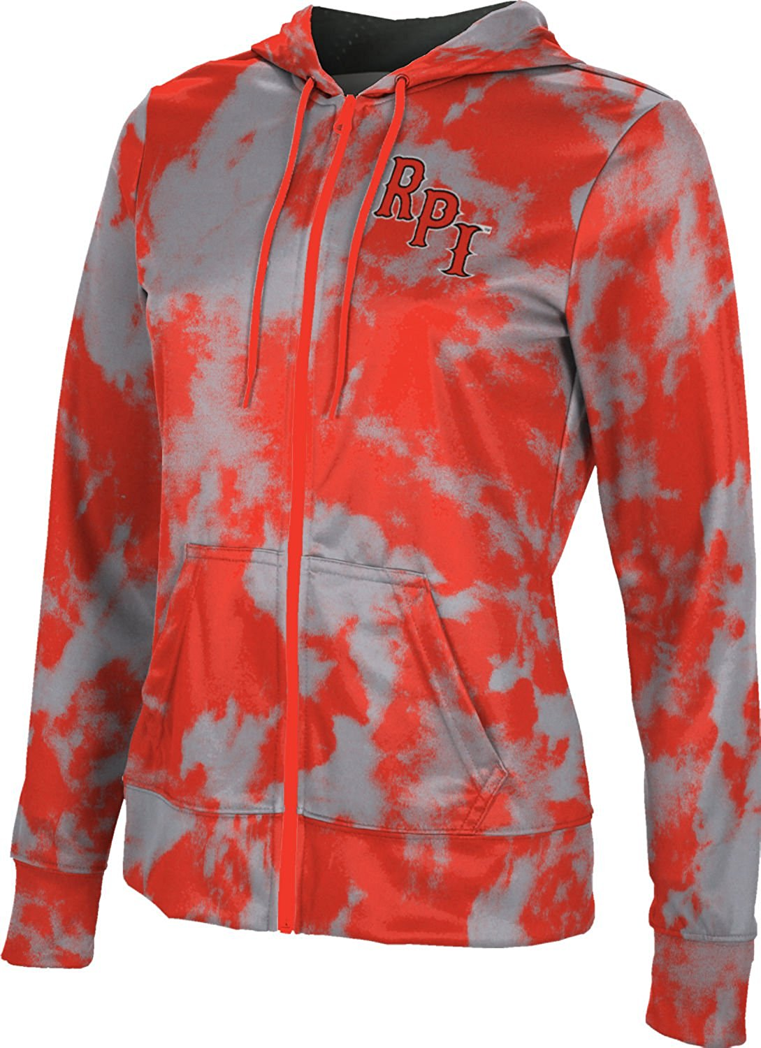 ProSphere Rensselaer Polytechnic Institute University Women's Full Zip Hoodie - Grunge