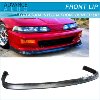 FOR ACURA INTEGRA 92 93 JDP STYLE POLY URETHANE FRONT BUMPER LIP SPOILER PU BODY KIT