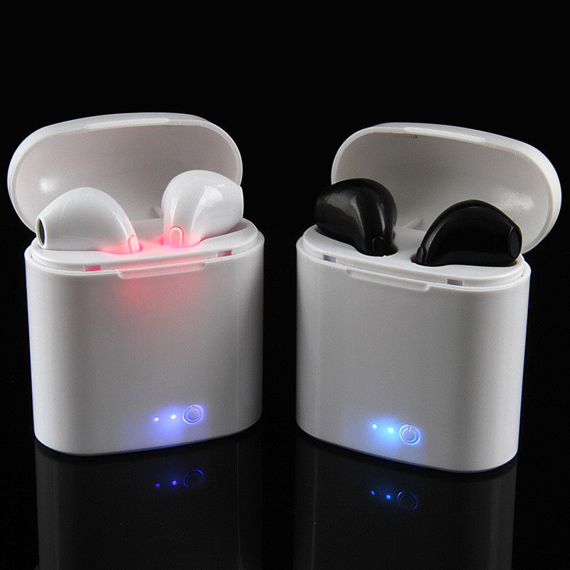 2019 Cheap for i7 use stereo single twins earphone wireless earphone headset music mini earphone