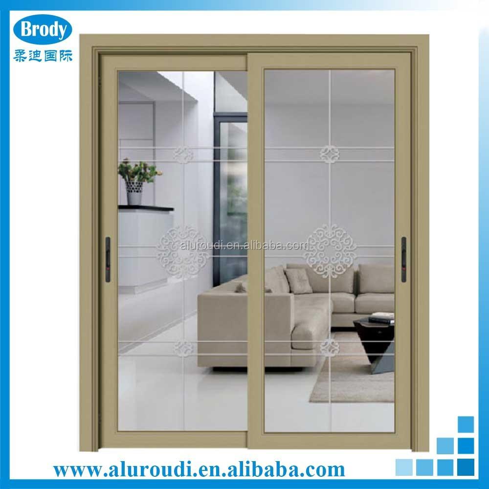 Inodoro de aluminio puertas correderas de cristal con for Puertas aluminio interior cristal