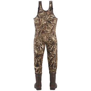 High quality insulated waterproof chest camo fishing waders