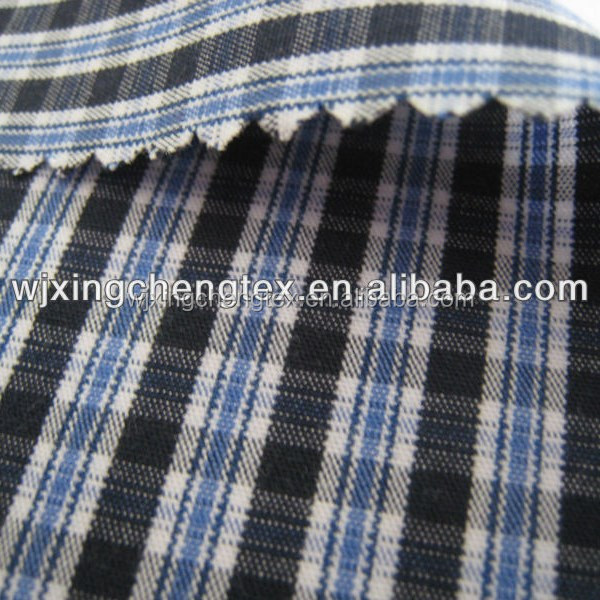 High quality yarn dyed cotton shirting fabrics manufacturer