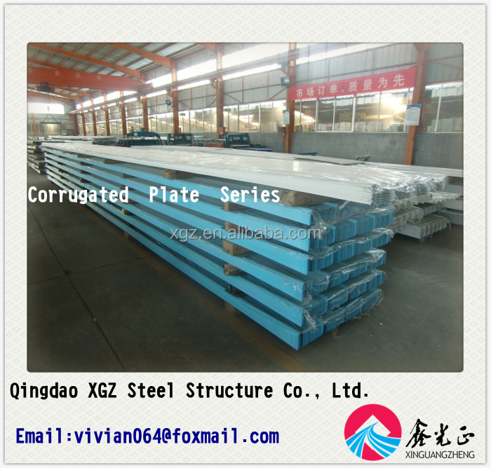corrugated plate series 760/EPS sandwich panel/rockwool sandwich panel