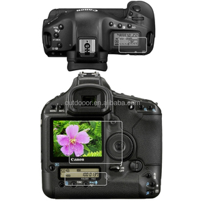 Camera Polycarbonate LCD Guard Film Screen Protector for CANON 1DS MARK III