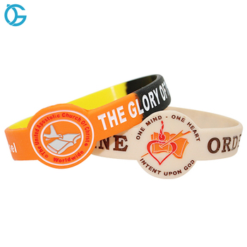 Personalized Rubber Bracelet Make Your Own Custom Printed Silicone Wristband