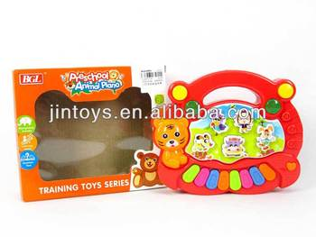 Preschool Toys Product : Kids preschool animal piano toy electric educational musical organ