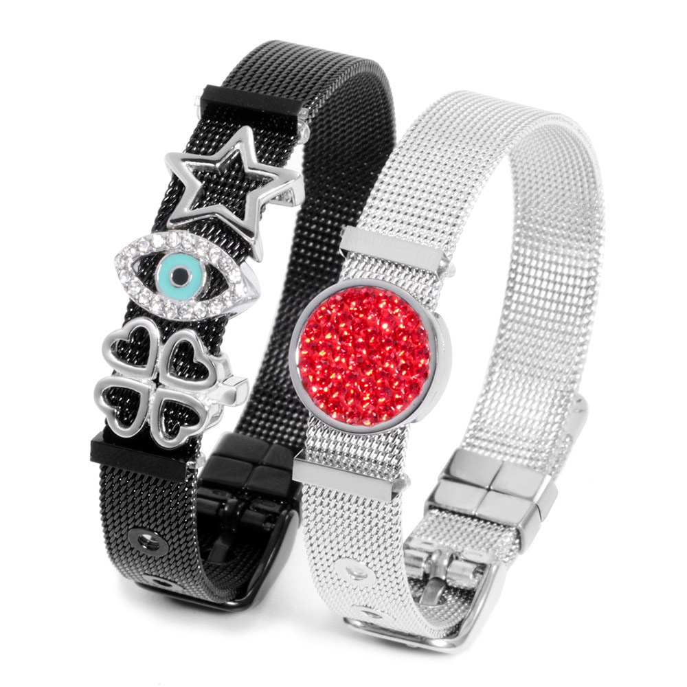 Fashion Design Stainless Steel Women Jewelry Mesh Accessories Bracelet