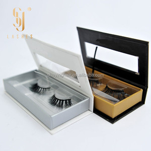 own brand w lashes private label and custom package premium 3d silk lashes