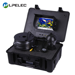 Deep Water Well Underwater Review Inspection Fishing Video Camera 7Inch Monitor 360Degree Rotative Camera 100M Cable Fish Finder
