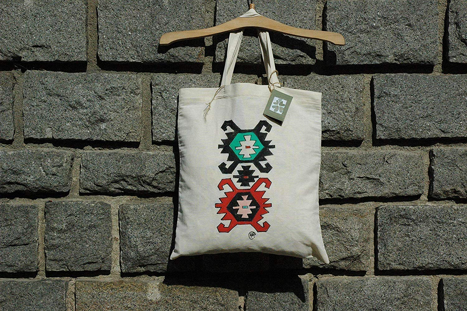 Sale!!!15% Off,Hand Painted Bulgarian Embroidery tote bag,Folk tote bag,Tote bag from Bulgaria,Traditional Bulgarian Bag.