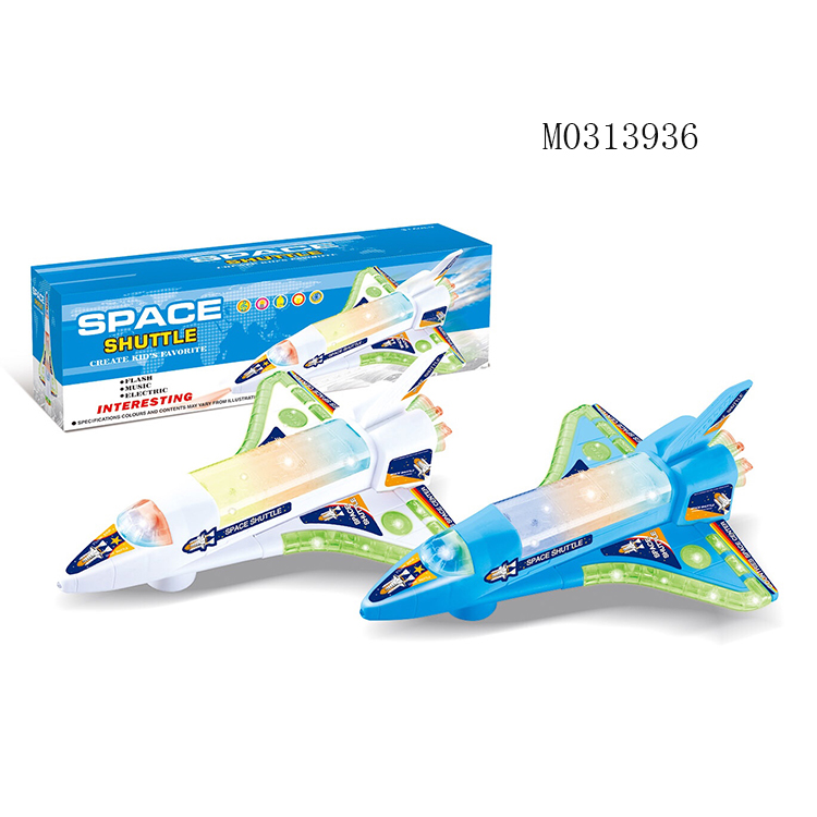 Electric Toys Lighting Music Aircraft Electric Airplane Battery Operated Toy