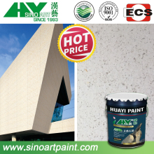 waterproof and cost saving liquid granite wall paint coating for building