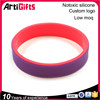 Hot selling special design custom printed silicone bracelet