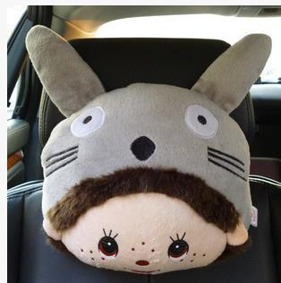 Qiqi series headrest cute car headrest pillow car pillow car