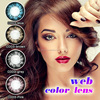 China manufacturer supply charming beauty color lens web contact lenses