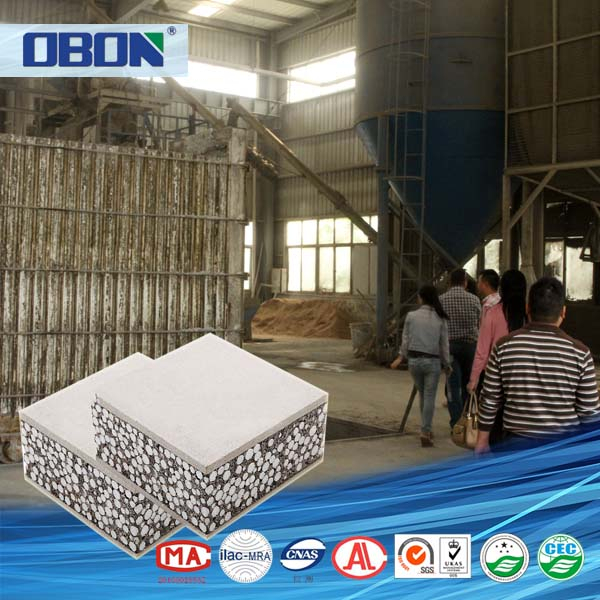 Fujian OBON hot koop polyurethaan sandwich panel machine