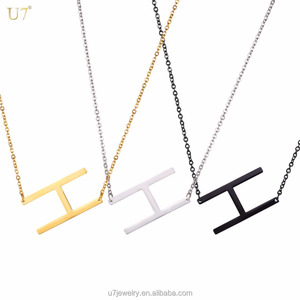 c0ed1b4f82 Letter H Necklace