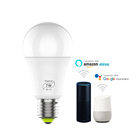 China smart led bulb alexa wifi bulb RGB LED bulb work with google assistant