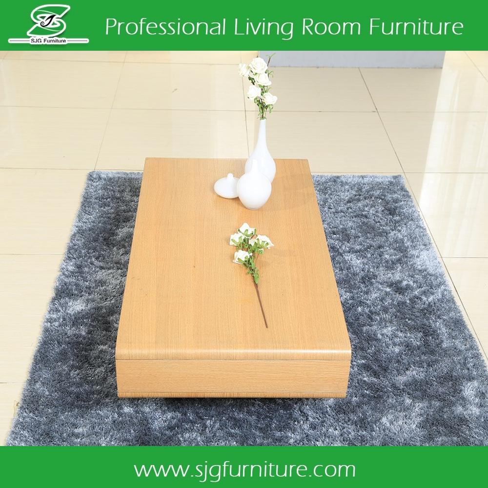 Woonkamer meubels ontwerp houten thee tafel hoogglans end tafel ...