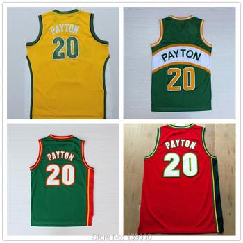 Outdoors Clothing Dealer   20 Gary Payton Jersey Throwback Jersey ... 7ed556579